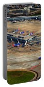 Chicago Airplanes 03 Portable Battery Charger