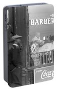 Chicago Barber Shop, 1941 Portable Battery Charger