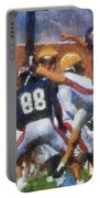Chicago Bears P Patrick O'donnell Training Camp 2014 Photo Art 02 Portable Battery Charger