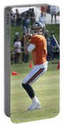 Chicago Bears Qb Jimmy Clausen Training Camp 2014 03 Portable Battery Charger