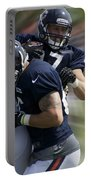Chicago Bears Te Jeron Mastrud Moving The Ball Training Camp 2014 Portable Battery Charger