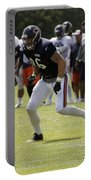 Chicago Bears Te Zach Miller Training Camp 2014 02 Portable Battery Charger