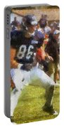 Chicago Bears Te Zach Miller Training Camp 2014 Pa 02 Portable Battery Charger