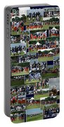 Chicago Bears Training Camp 2014 Collage The Players Portable Battery Charger