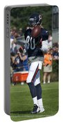 Chicago Bears Wr Armanti Edwards Training Camp 2014 02 Portable Battery Charger