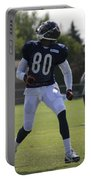 Chicago Bears Wr Armanti Edwards Training Camp 2014 03 Portable Battery Charger