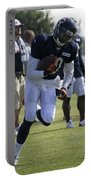 Chicago Bears Wr Armanti Edwards Training Camp 2014 05 Portable Battery Charger