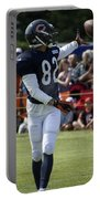 Chicago Bears Wr Chris Williams Training Camp 2014 04 Portable Battery Charger