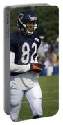 Chicago Bears Wr Chris Williams Training Camp 2014 05 Portable Battery Charger