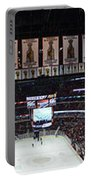 Chicago Blackhawks United Center Panorama 03 Portable Battery Charger