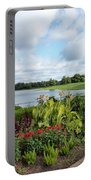Chicago Botanical Gardens - 95 Portable Battery Charger by Ely Arsha