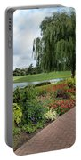Chicago Botanical Gardens - 96 Portable Battery Charger by Ely Arsha