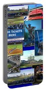 Chicago Cubs Collage Portable Battery Charger