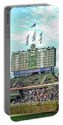 Chicago Cubs Scoreboard 01 Portable Battery Charger