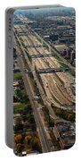 Chicago Highways 02 Portable Battery Charger