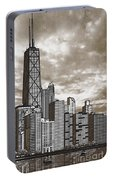 Chicago Illinois No Text Portable Battery Charger