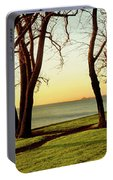 Chicago Lakefront Trail And Lincoln Portable Battery Charger
