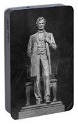 Chicago Lincoln Statue Portable Battery Charger