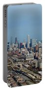 Chicago Looking North 01 Portable Battery Charger