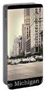 Chicago Michigan Ave Field Museum Art Institute Triptych 3 Panel Portable Battery Charger