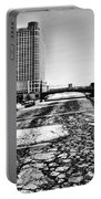 Chicago On Ice By Diana Sainz Portable Battery Charger