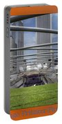 Chicago Pritzker Music Pavillion Triptych 3 Panel Portable Battery Charger