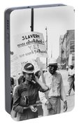 Chicago Protest, 1941 Portable Battery Charger