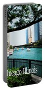 Chicago River Front Portable Battery Charger