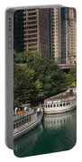 Chicago River Tour Boats Portable Battery Charger