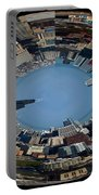 Chicago Skyline Polar View Portable Battery Charger