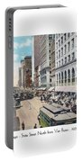 Chicago - State Street North From Van Buren - 1925 Portable Battery Charger
