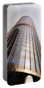 Chicago Sunrays On Trump Tower Portable Battery Charger