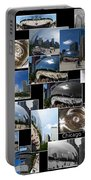 Chicago The Bean Collage Portable Battery Charger