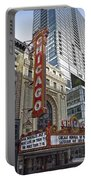 Chicago Theater Facade Northside Portable Battery Charger