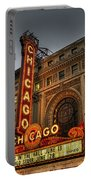 Chicago Theatre Hdr Portable Battery Charger
