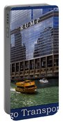 Chicago Transportation Triptych 3 Panel Hdr 01 Portable Battery Charger