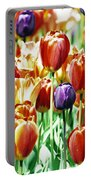 Chicago Tulips Portable Battery Charger