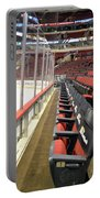 Chicago United Center Before The Gates Open Blackhawk Seat One Portable Battery Charger