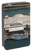 Chicago's Navy Pier Aerial Panoramic Portable Battery Charger