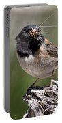 Chickadee Bringing Lunch To The Kids Portable Battery Charger