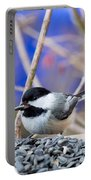 Chickadee Feast Portable Battery Charger