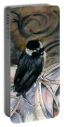 Chickadee On A Sneaker Portable Battery Charger