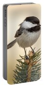 Chickadee Pose Portable Battery Charger