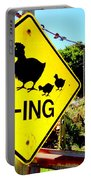 Chicken Crossing Portable Battery Charger