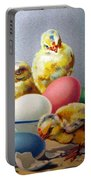 Chicks And Eggs Portable Battery Charger