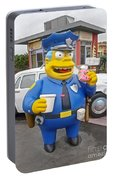 Chief Clancy Wiggum From The Simpsons Portable Battery Charger