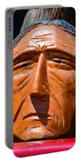Chief Looking Portable Battery Charger