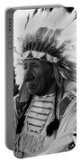 Chief Red Cloud Portable Battery Charger by War Is Hell Store