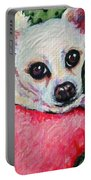 Chihuahua Who Came To Visit Portable Battery Charger