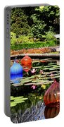 Chihuly Ball Lily Pond Portable Battery Charger